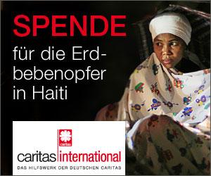 Spende für Haiti Opfer